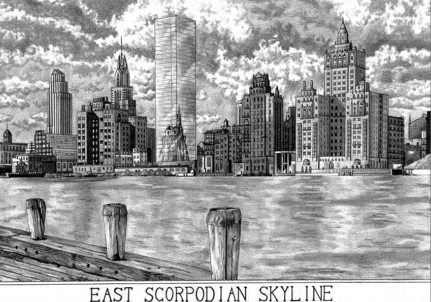 East Scorpodian Skyline