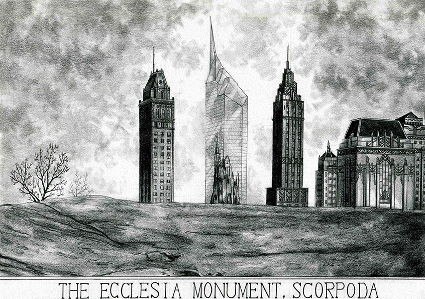 The Ecclesia Monument, Scorpoda